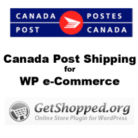 Canada Post Shipping Module for Wordpress Ecommerce