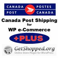 Canada Post Shipping Module for Wordpress eCommerce Plus